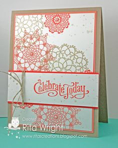 Rita's Creations: Stampin' Up! Delicate Doilies