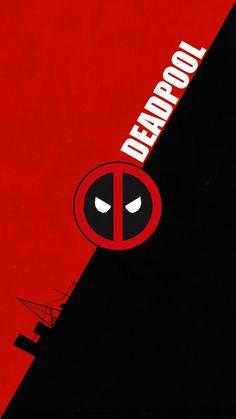 deadpool logo wallpaper by zhalovejun on DeviantArt Cute Deadpool, Deadpool X Spiderman, Superman, Deadpool Wallpaper, Marvel Wallpaper, Dead Pool, Avengers Pictures, Deadpool Pictures, Spiderman Pictures