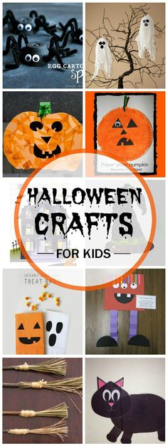 25 Halloween Craft Ideas for Children Pinterest Quality time - halloween kids craft ideas