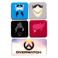 Overwatch Magnet Set - Series 3 | Blizzard Gear Store