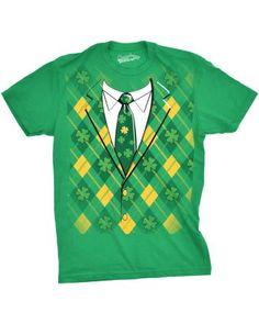 a8dbac78 Plaid Green Tuxedo St Patricks Day Shirt Green Tuxedo, Tuxedo T Shirt, St  Patrick