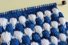 Bubble Knit Stitch Pattern Project Roundup by Studio #knitstitchpattern #studioknit