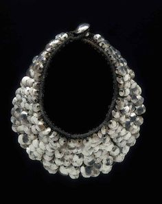 KRIS RUHS | Silver, gold and rope necklaces 03