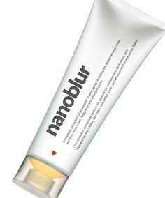 Nanoblur is like a primer, except you can also use it over makeup, and it hides imperfections -- blurring them, if you will. Fine lines, freckles, pores, shine -- buh-bye.