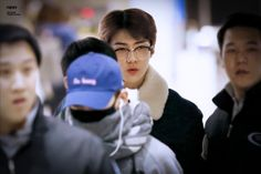 Sehun - 160125 Incheon Airport, arrival from Manila Credit: 바람에게. (인천공항 임국)