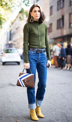 Street Style: Reinventing The Cuffed Jean
