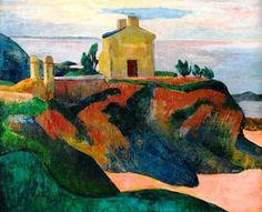 Paul Gauguin. La Maison du Pan-Du, 1891.