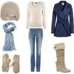 Outfit con gabardina, encuentra más estilos aquí... http://www.1001consejos.com/outfits-para-el-invierno/