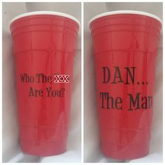 Custom 32 oz Solo Party Cup www.facebook.com/thequeenbeechic