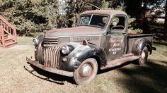 Farm Fresh: 1941 Chevrolet Pick Up - http://barnfinds.com/farm-fresh-1941-chevrolet-pick-up/