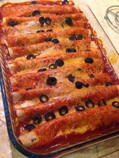 Easy Beef Enchiladas. Recipe inside