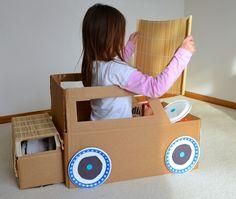 ikat bag: How To Make A Cardboard Car