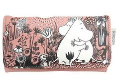 MOOMIN wallet LOVE - funky little people - quality Scandinavian organic kids clothes, gifts and Moomin products - 1 Tove Jansson, Little People, Animal Drawings, Scandinavian, Stationery, Snoopy, Wallet, Cards, Gifts