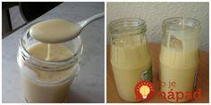 Môj obľúbený recept na domáce sladené kondenzované mlieko. Používam na palacinky, do sladkých krémov a teraz v lete aj na výrobu domácej zmrzliny. Ak nechcete vyhadzovať peniaze za drahý originál, tento recept vyskúšajte.