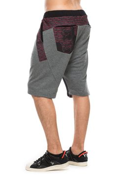 www.darktony.com Printed panel shorts grey 55.33€