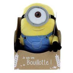 """Bouillotte """"Minion"""" (en parapharmacie) 29,99€ - Décembre 2017"""