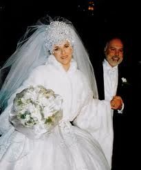Celine Dion Wedding Dress Google Search Celebrity Dresses