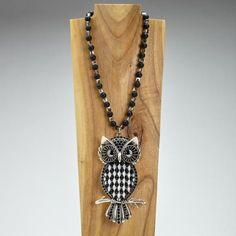 Iris Apfel Exclusive: Owl Locket Necklace