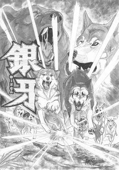 My contest entry for [link] [Finnish contest]. I am really really happy bacause the Finnish finally got the rights to translate Ginga Nagareboshi Gin ma. Kimba The White Lion, Warrior Cats Fan Art, Devilman Crybaby, Mermaid Art, Werewolf, Amazing Art, Art Reference, Fandoms, King