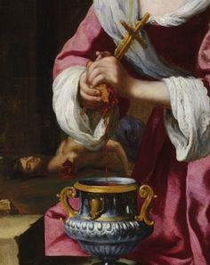 Johannes Vermeer (attrib.), Saint Praxedis, 1655