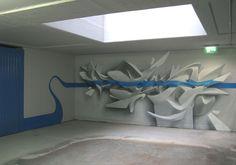 The 3D Graffiti by Peeta