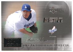 Hideo Nomo # AW 8 - 2005 Upper Deck ESPN Baseball ESPY Award Winners