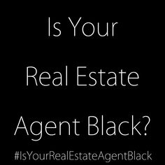 According to the National association of Realtors only five percent of Realtors are Black or African American.  While a lack of affordable housing and stricter lending requirements have made it harder for first-time buyers especiallyfirst-time buyers of color. I believe the lack of agents that are visible in these communities leaves those that may be able to buy and don't know it in the dark. Let's work more on improving the visibility and viability of Black agents in our community!