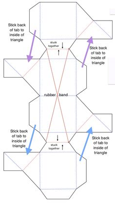 pattern for cube idea- make cubes but have students color