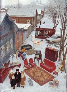 kanal:    家族全員と所有物一式を自宅の前に集めた世界中の写真 - GIGAZINE