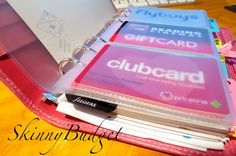 Make your own card holders for your Filofax for $3 or less! Shows step by step pictures and gives clear instructions.