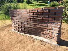 Five Ideas For Customizing a Privacy Fence - Fence Ideas - Z Brick, Brick Works, Brick Art, Brick Fence, Brick And Stone, Brick Architecture, Amazing Architecture, Architecture Details, Brick Images