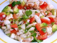 Costa Rican Food - Ceviche