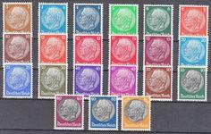 1932 Hindenburg Stamps