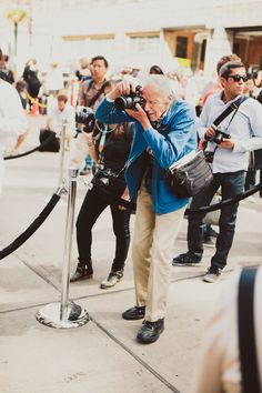 ++ bill cunningham. Love this guy. Great documentary about him that's totally worth watching too.