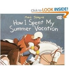 "Beginning of school....I love Mark Teague.. 3rd grade reads ""Lost and Found"" in HM Curriculum"