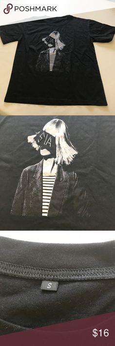 Black Sia T Shirt Size S Black Sia T Shirt Size S Tops Tees - Short Sleeve