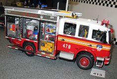 revell firetruck model kits