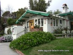 One of my most favorite places for breakfast at the beach ~ Fond memories.      The Cottage Restaurant in Laguna Beach, Ca