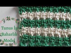 Knitted Baby Clothes, Tunisian Crochet, Crochet Videos, Baby Knitting, Crochet Bikini, Crochet Stitches, Needlepoint, Boss, Tunisian Crochet Patterns