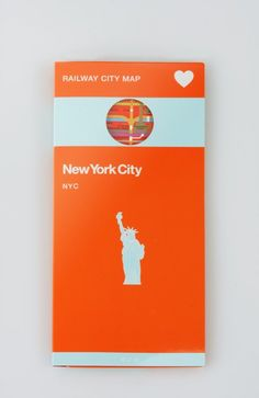 NYC Railway City Map cover
