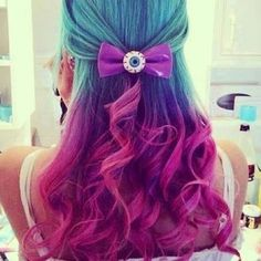 colourful hair styles - Google Search
