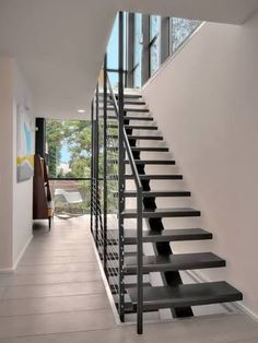 steel spine external staircase - Google Search