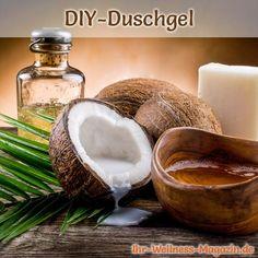Duschgel selber machen - Duschgel Rezept für Kokos-Duschgel ...