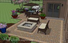 Inexpensive Backyard Ideas   Backyard Patio Ideas on a Budget   Patio Designs and Ideas   Outdoors