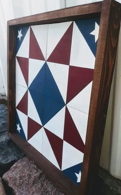barn quilt with new mexico design Quilt Square Patterns, Barn Quilt Patterns, Square Quilt, Barn Quilt Designs, Quilting Designs, Diy Arts And Crafts, Wood Crafts, Barn Signs, Pallet Signs