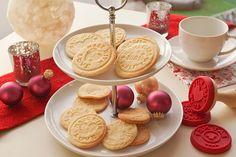 Zitronige Butterkekse – Plätzchenteig für Keksstempel (vegan)