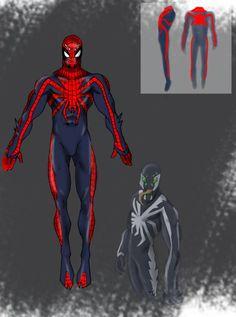 P:R Spider Man design by Chezpizza.deviantart.com on @DeviantArt