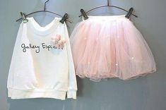 Cheap kids girl, Buy Quality outfit set directly from China summer baby Suppliers: Summer Baby Kids Girls Flower Party Long Sleeve Letter Printed T-shirt Tops +Tulle Skirt Outfits Set Gown Fancy Dresses Kids Outfits Girls, Kids Girls, Baby Outfits, School Outfits, Baby Kids, Flower Dresses, Cute Dresses, Pumpkin Costume, Thanksgiving Outfit