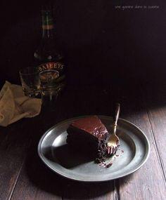fudgy dark chocolate Baileys mud cake | une gamine dans la cuisine