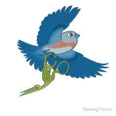 OtGW Beatrice and the Stork Scissors